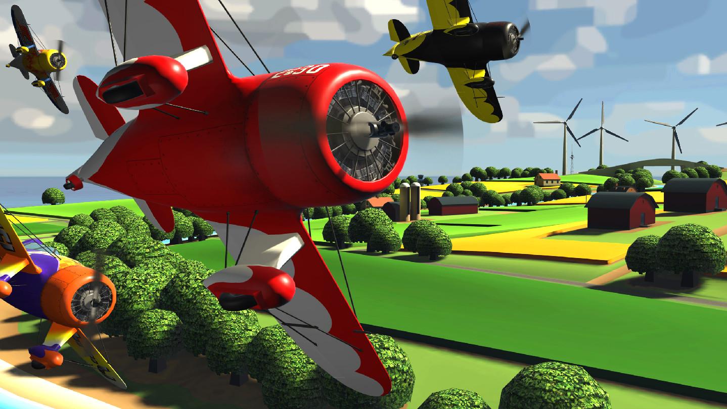 Oculus Quest 游戏《Ultrawings》模拟飞行插图