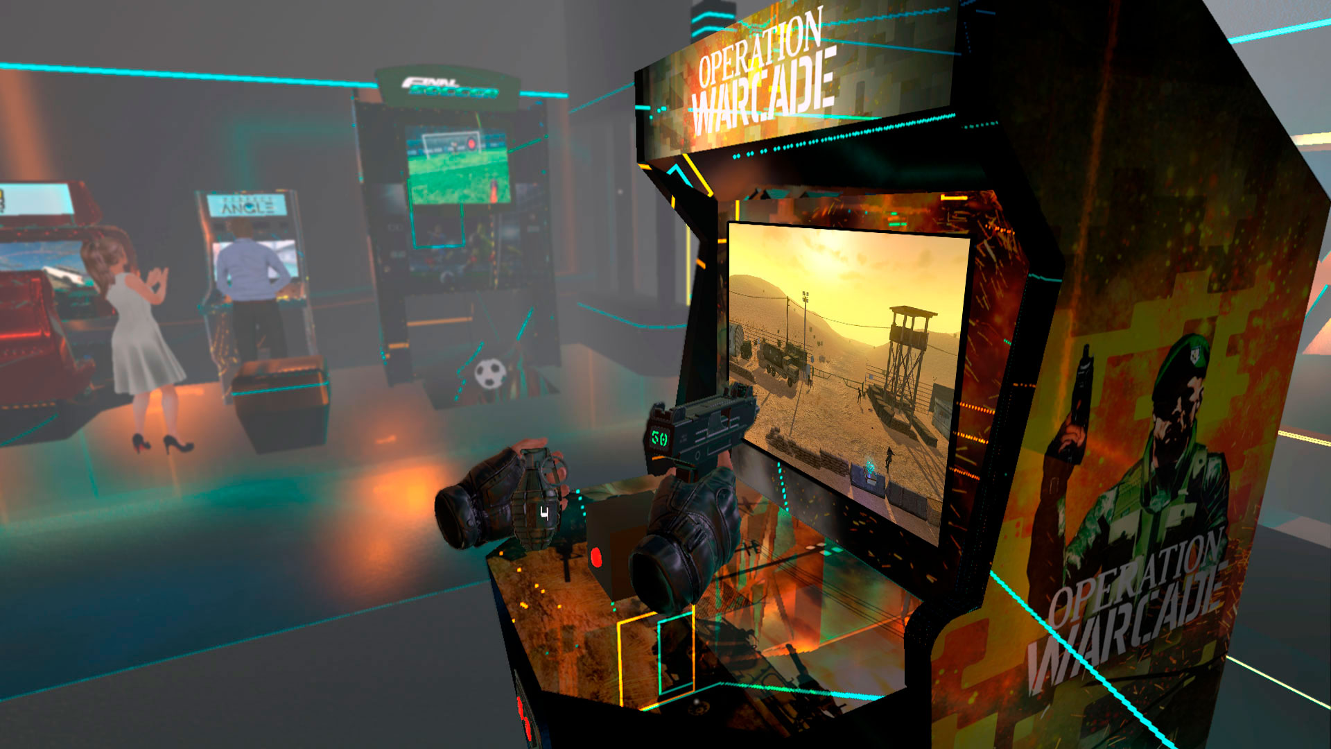Oculus Quest 游戏《Operation Warcade VR》战地行动 VR插图(1)