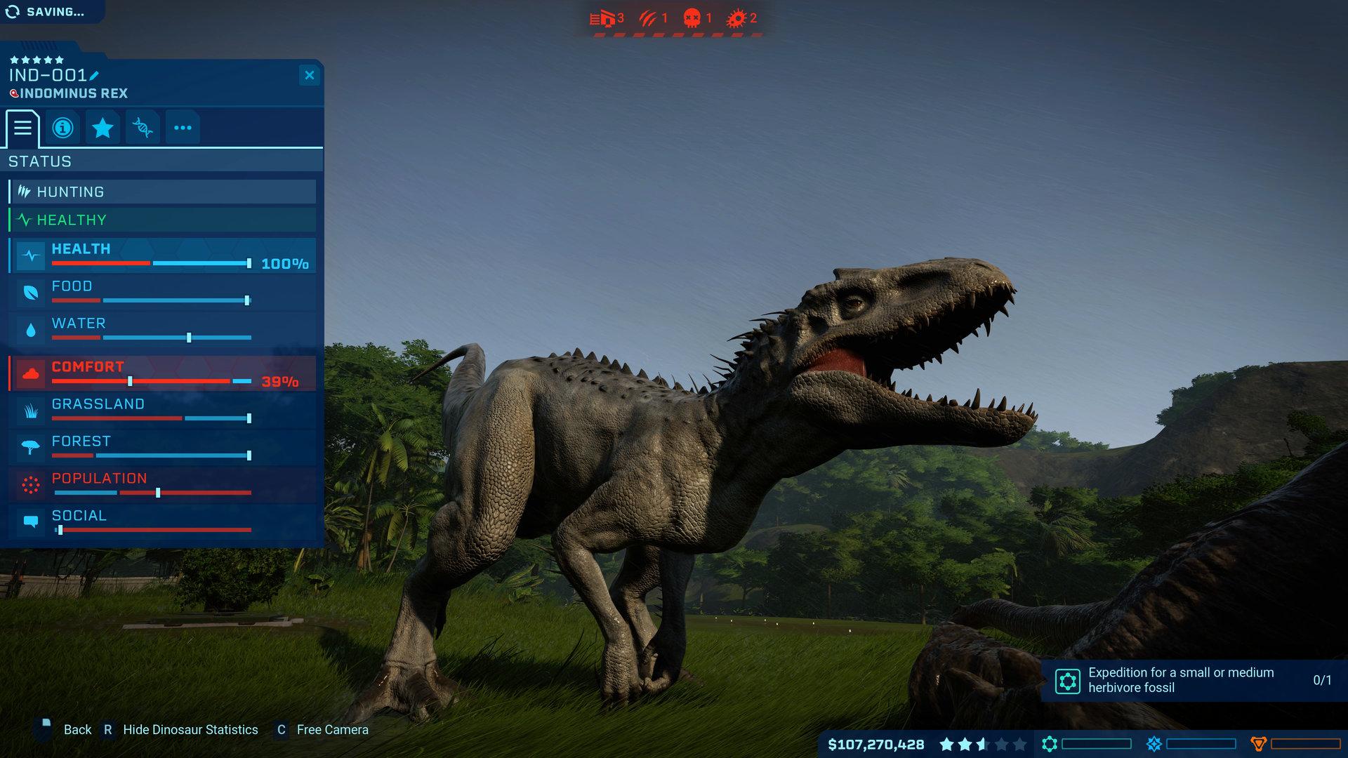 ประหยัด 90% สำหรับ Jurassic World Evolution บน Steam