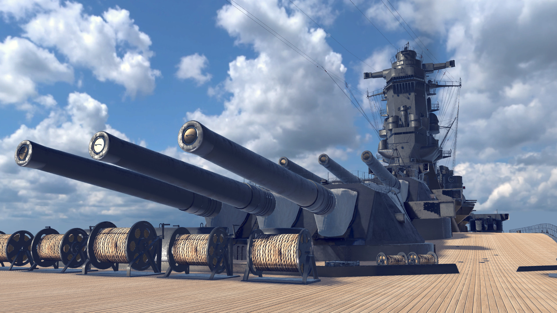Oculus Quest 游戏《VR Battle of Battleship》VR战舰大和号插图