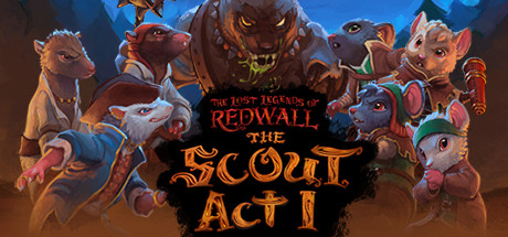 The Lost Legends of Redwall  The Scout Act 1 Capa