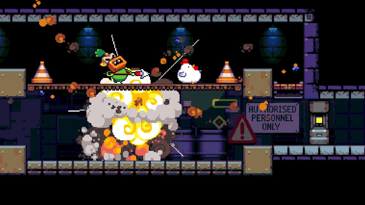 Bomb Chicken on Steam