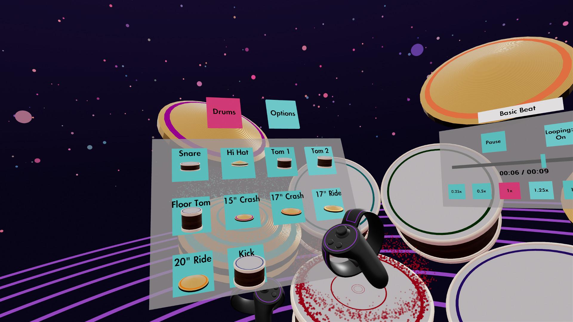 Oculus Quest 游戏《Paradiddle》架子鼓VR插图(3)