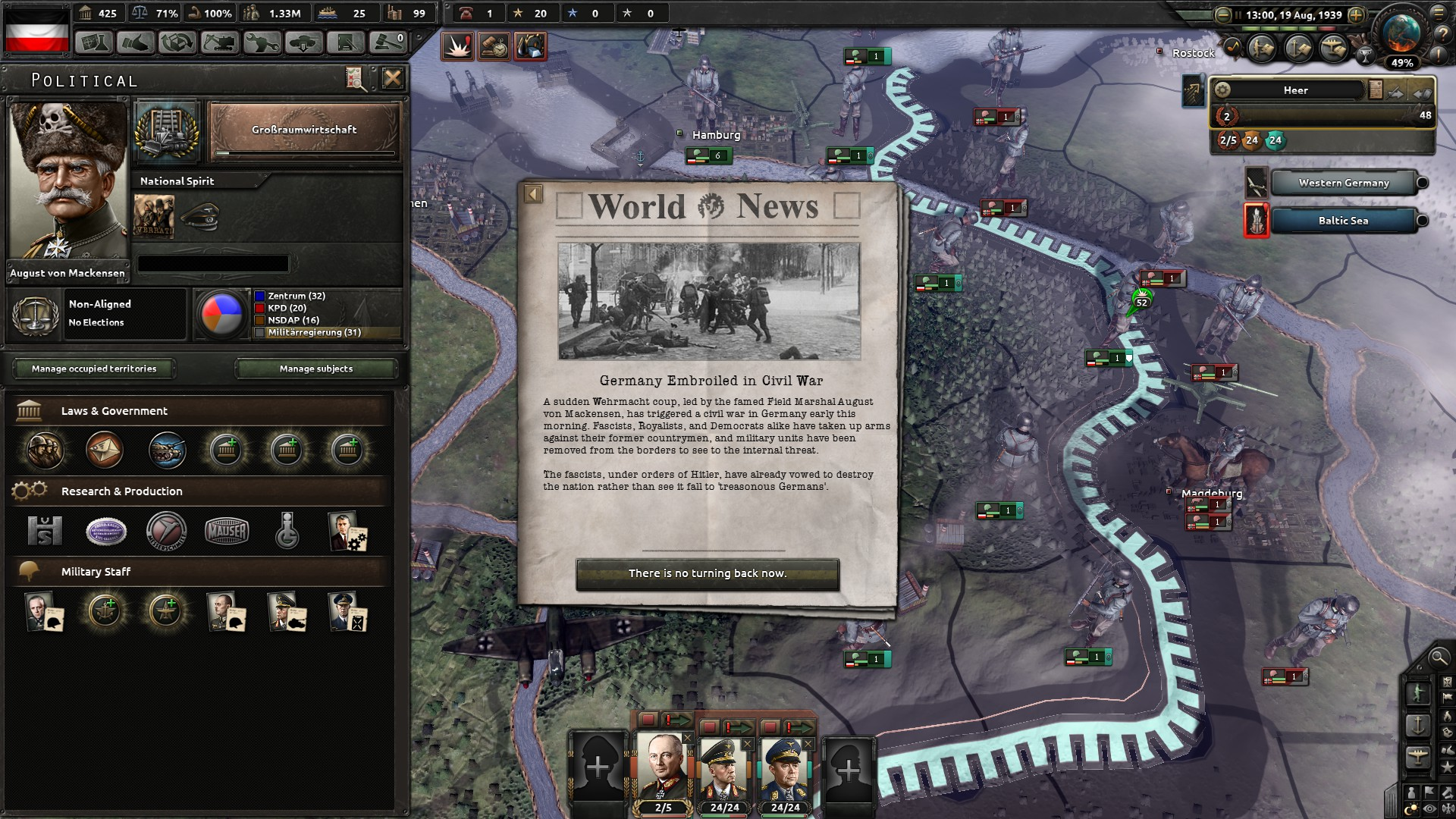 Expansion - Hearts of Iron IV: Waking the Tiger på Steam
