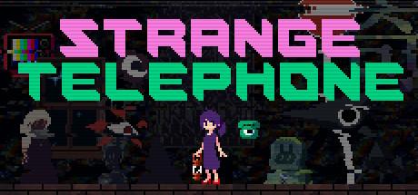 Strange Telephone Cover Image