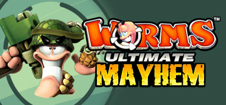 Worms Ultimate Mayhem Cover Image