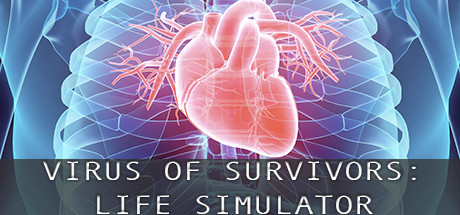 VIRUS OF SURVIVORS:LIFE SIMULATOR Cover Image