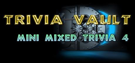 Trivia Vault: Mini Mixed Trivia 4 Cover Image