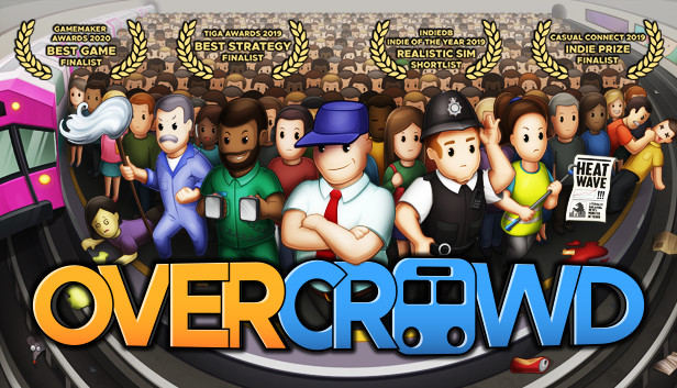 Save 30% on Overcrowd: A Commute 'Em Up on Steam
