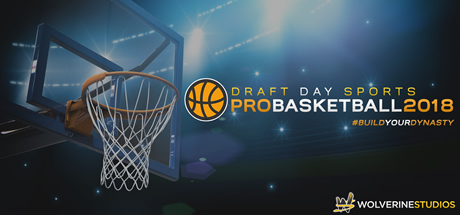 Draft Day Sports: Pro Basketball 2018 Cover Image