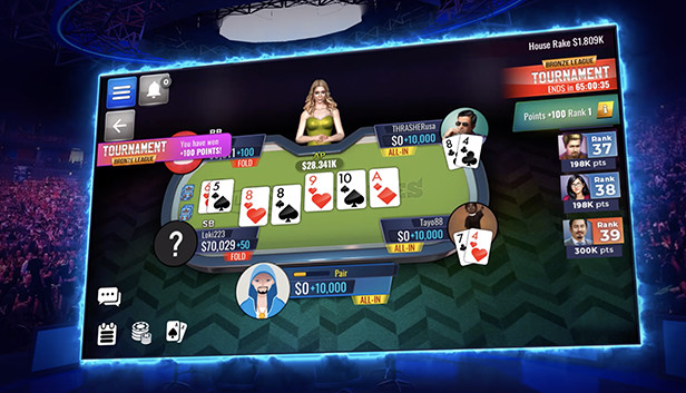 Poker Legends: Texas Hold'em Poker Tournaments on Steam