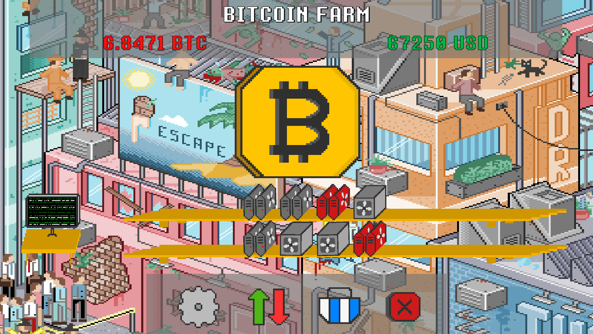BatMiner - Mobile Mining Farm