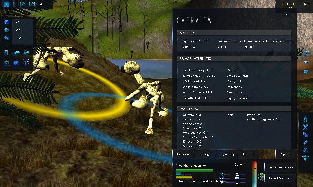 Creature evolution online games halo scene creator 2 game