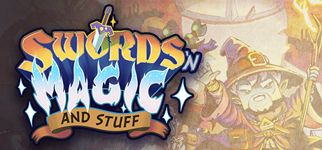 Swords n Magic and Stuff Capa