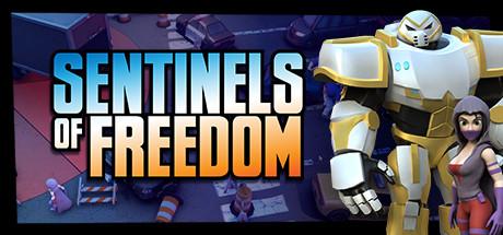 Sentinels of Freedom Capa