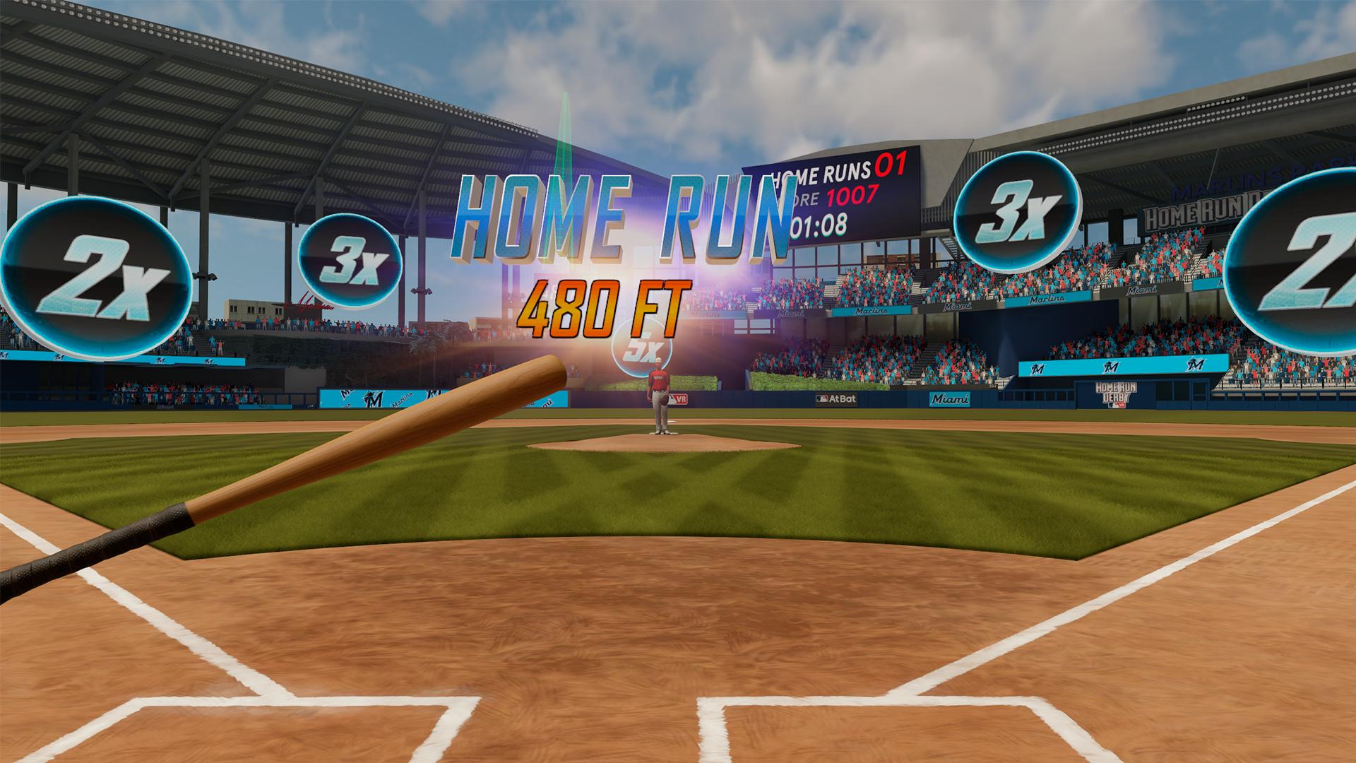 Oculus Quest 游戏《MLB Home Run Derby VR!》美国职棒大联盟本垒打 VR插图(3)