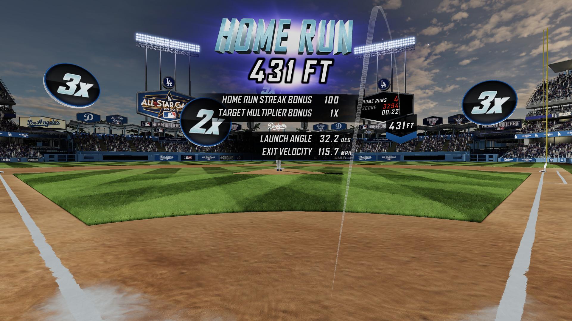 Oculus Quest 游戏《MLB Home Run Derby VR!》美国职棒大联盟本垒打 VR插图(1)