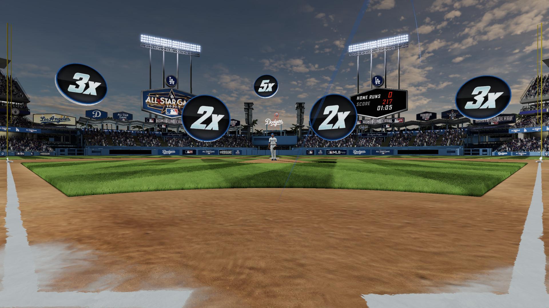 Oculus Quest 游戏《MLB Home Run Derby VR!》美国职棒大联盟本垒打 VR插图