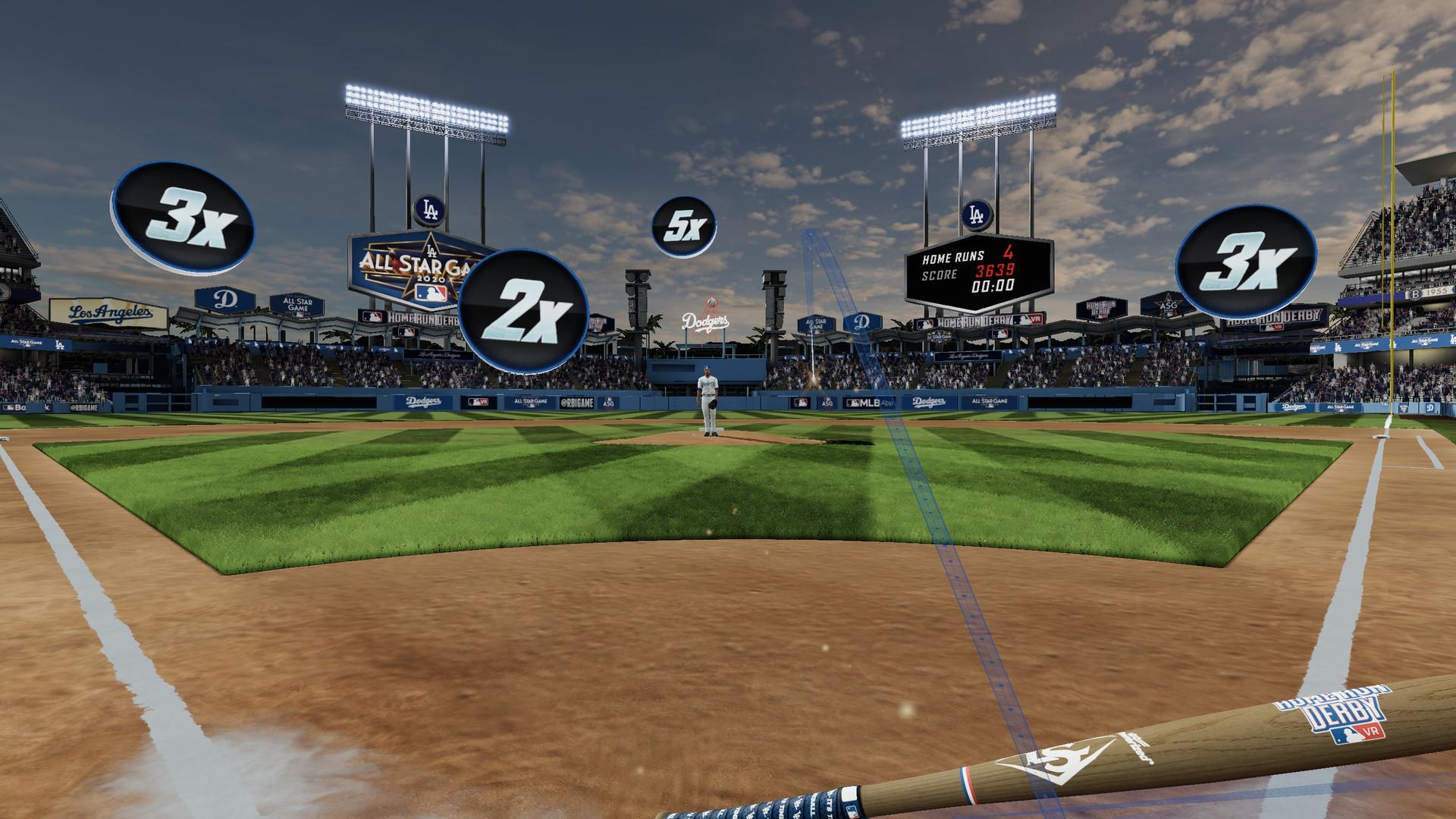 Oculus Quest 游戏《MLB Home Run Derby VR!》美国职棒大联盟本垒打 VR插图(2)