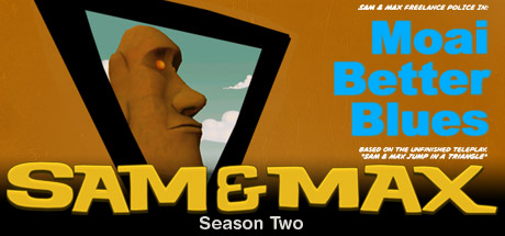 Sam & Max 202: Moai Better Blues Cover Image