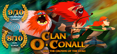 Clan OConall and the Crown of the Stag Capa