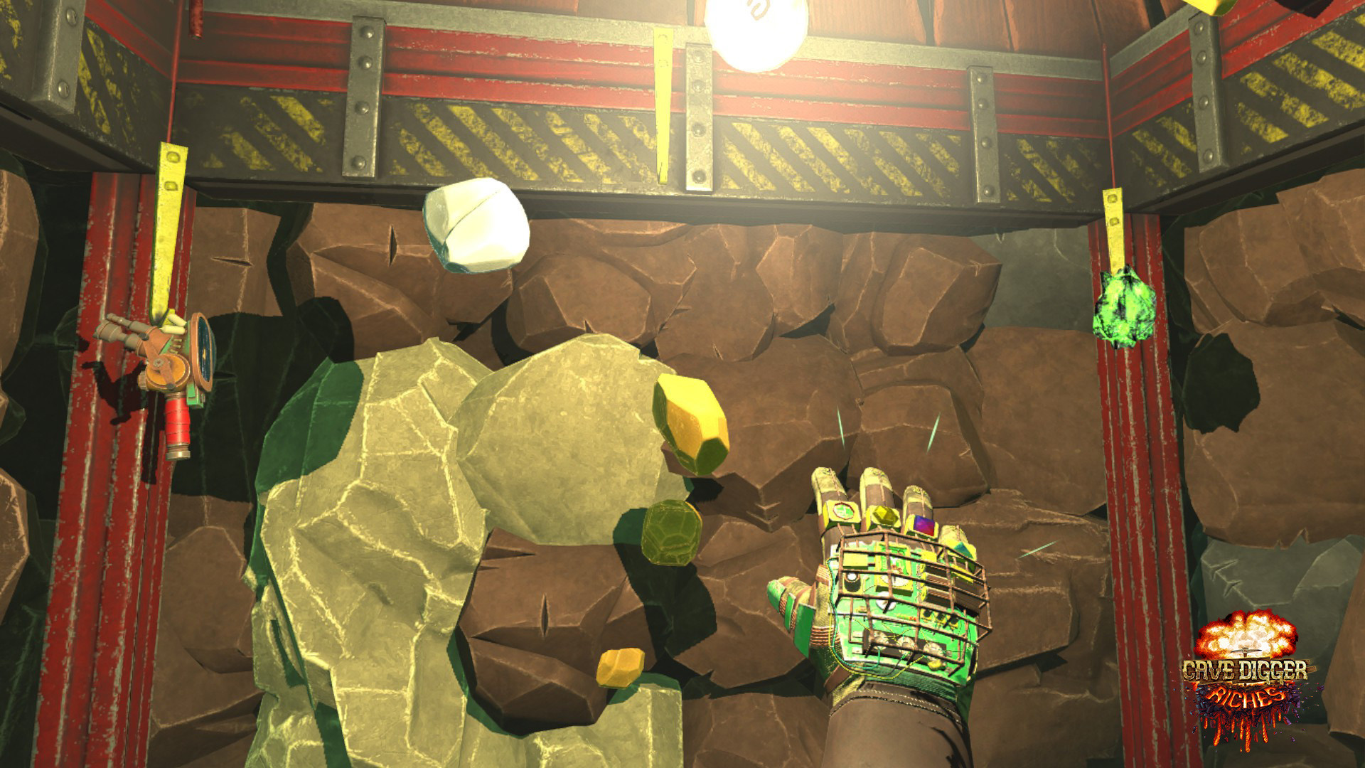 Oculus Quest 游戏《Cave Digger: Riches》地下挖矿者插图(3)