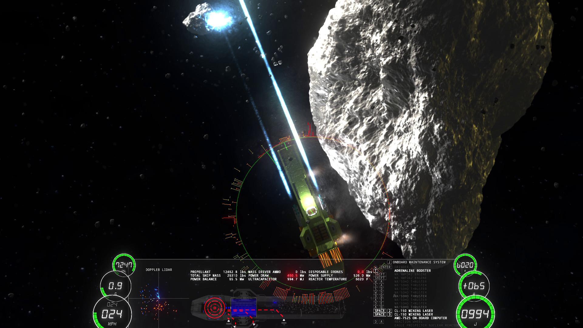 ΔV: Rings of Saturn screenshot 3