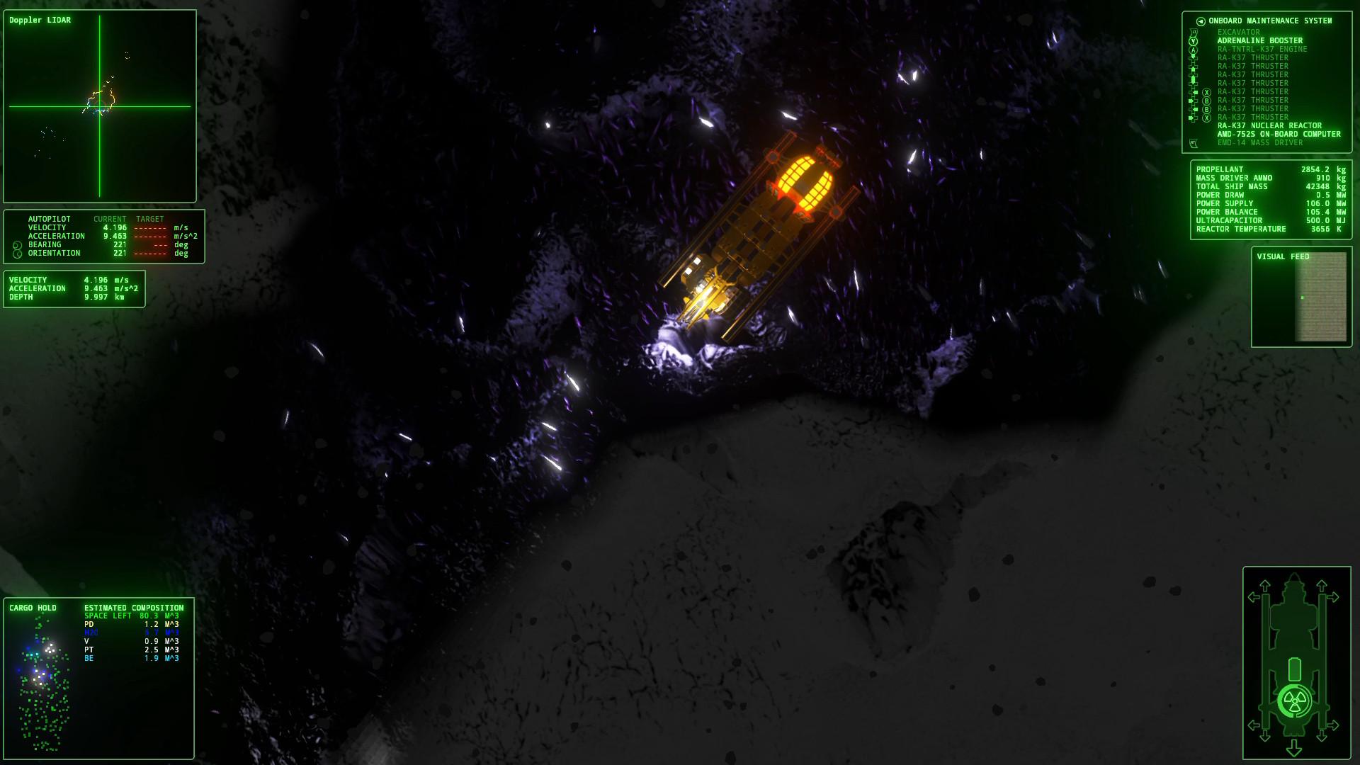 ΔV: Rings of Saturn screenshot 2