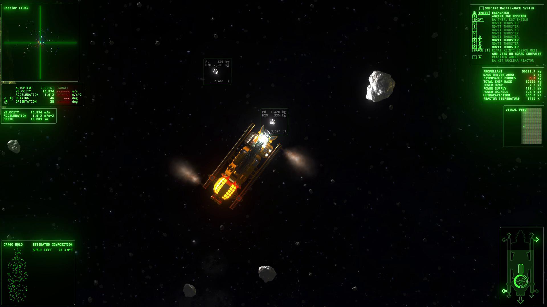 ΔV: Rings of Saturn screenshot 1