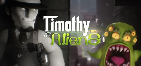 Timothy vs the Aliens Capa