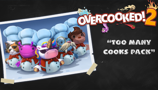 Overcooked! 2 - Too Many Cooks Pack on Steam