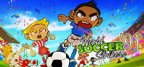 World Soccer Strikers '91 Cover Image