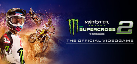 Monster Energy Supercross - The Official Videogame 2 Cover Image