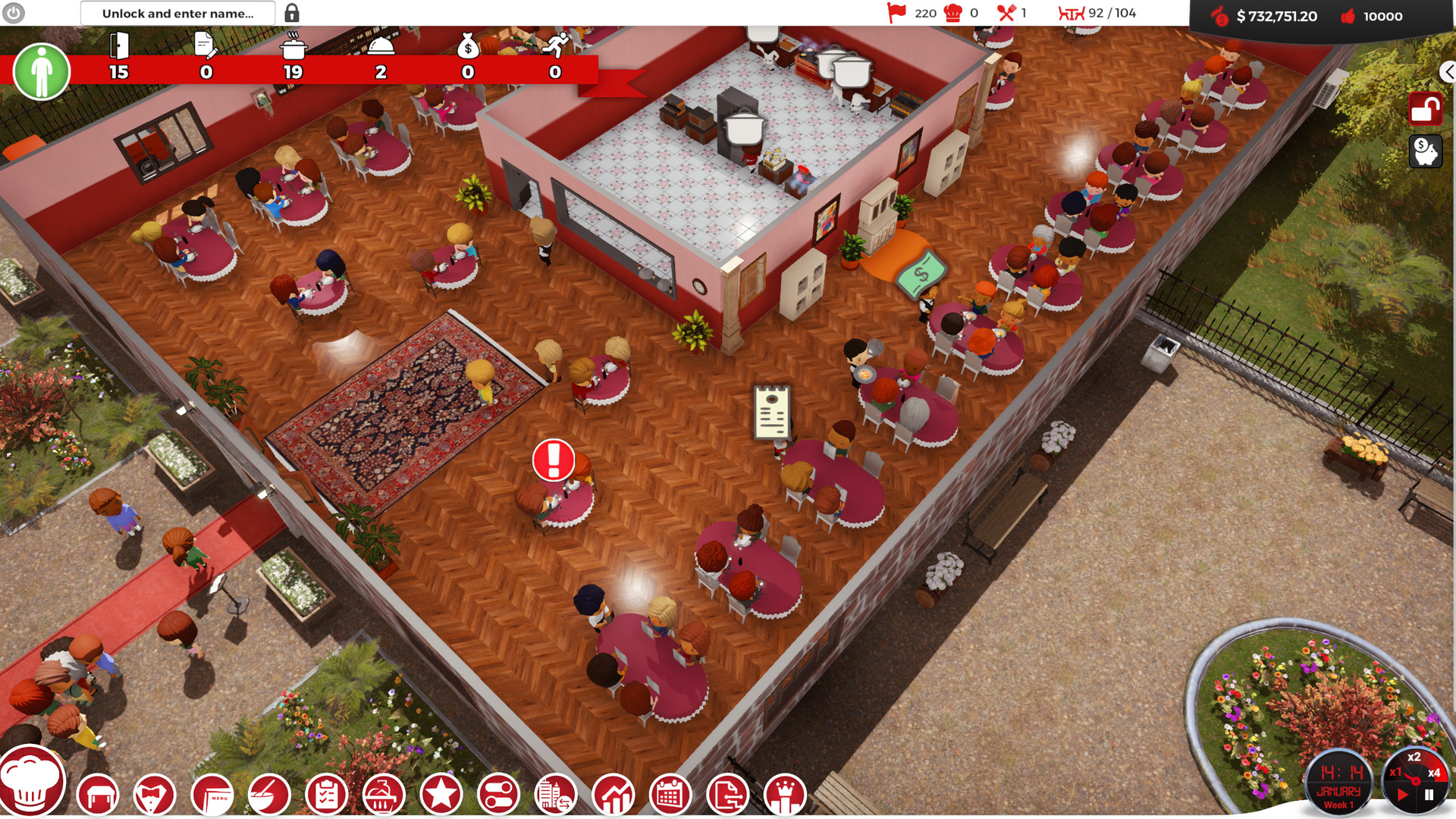 Chef: A Restaurant Tycoon Screenshot 3