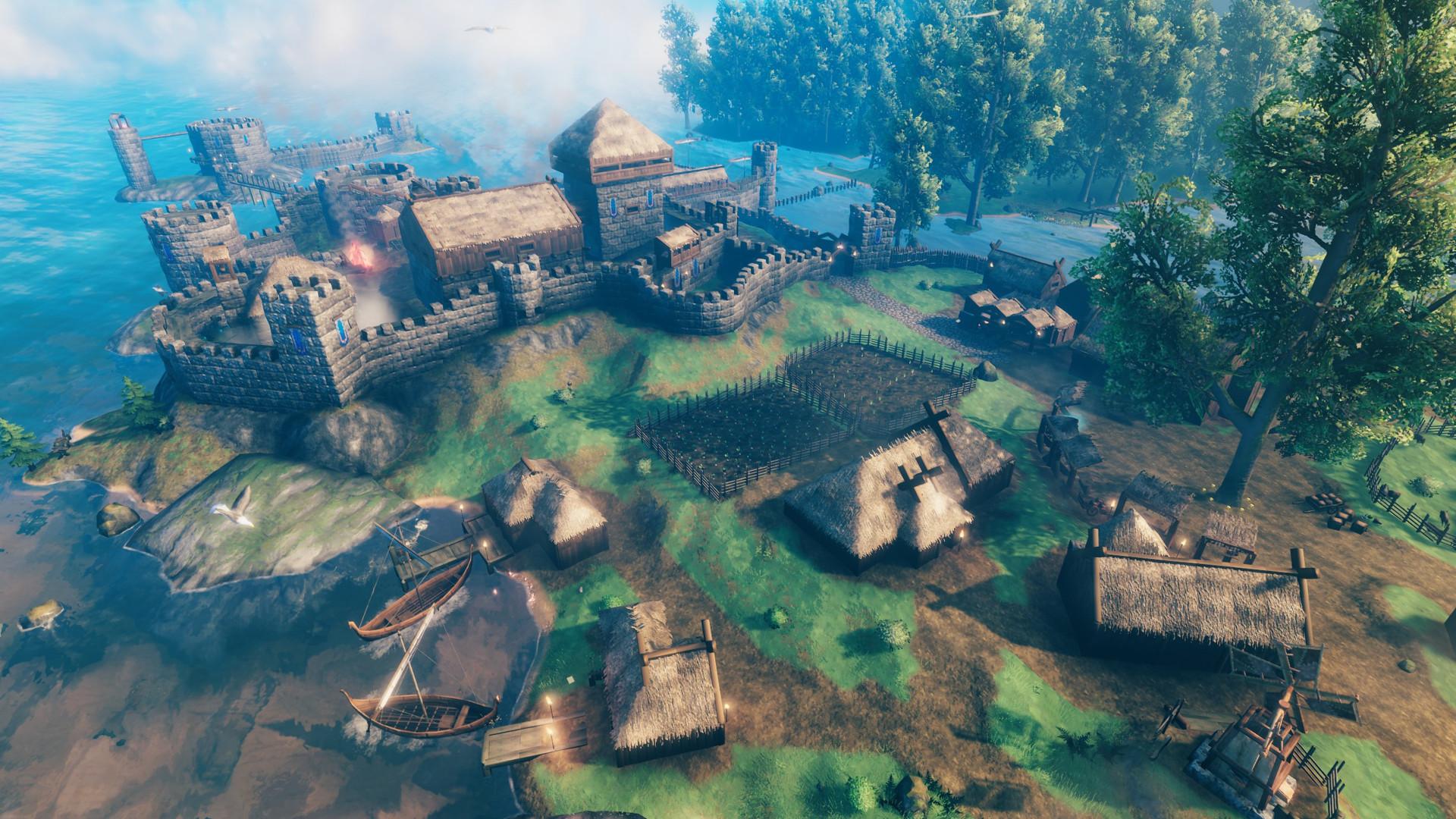 Steam ヴァルヘイム 北欧神話とバイキングがテーマのオープンワールド型探索サバイバルゲーム『ヴァルハイム』早期アクセス版が配信開始。最大10人での協力プレイに対応(電ファミニコゲーマー)