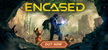 Encased A SciFi PostApocalyptic RPG Capa