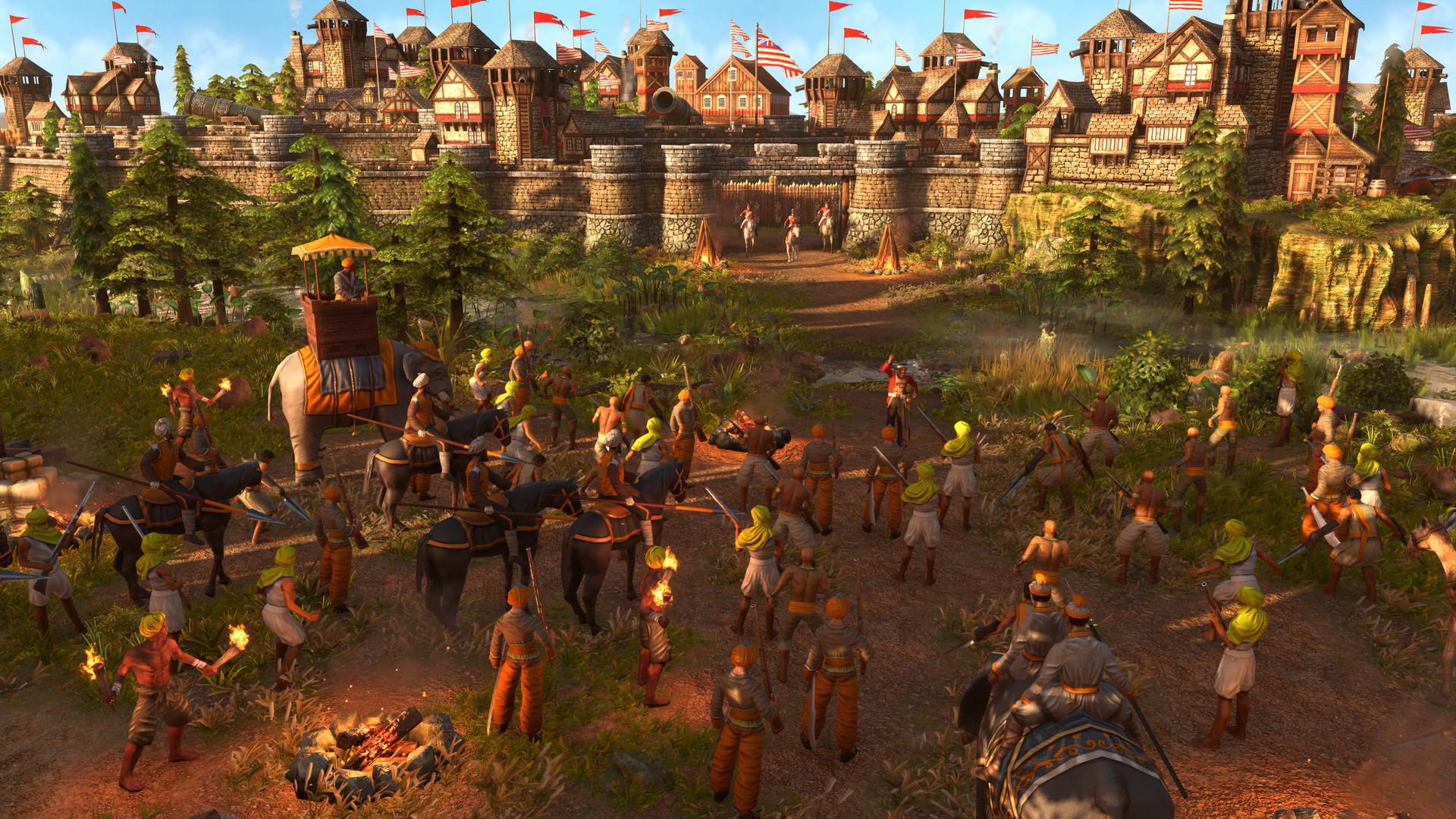 Age of Empires III: Definitive Edition describe las mejoras introducidas en un nuevo vídeo 2