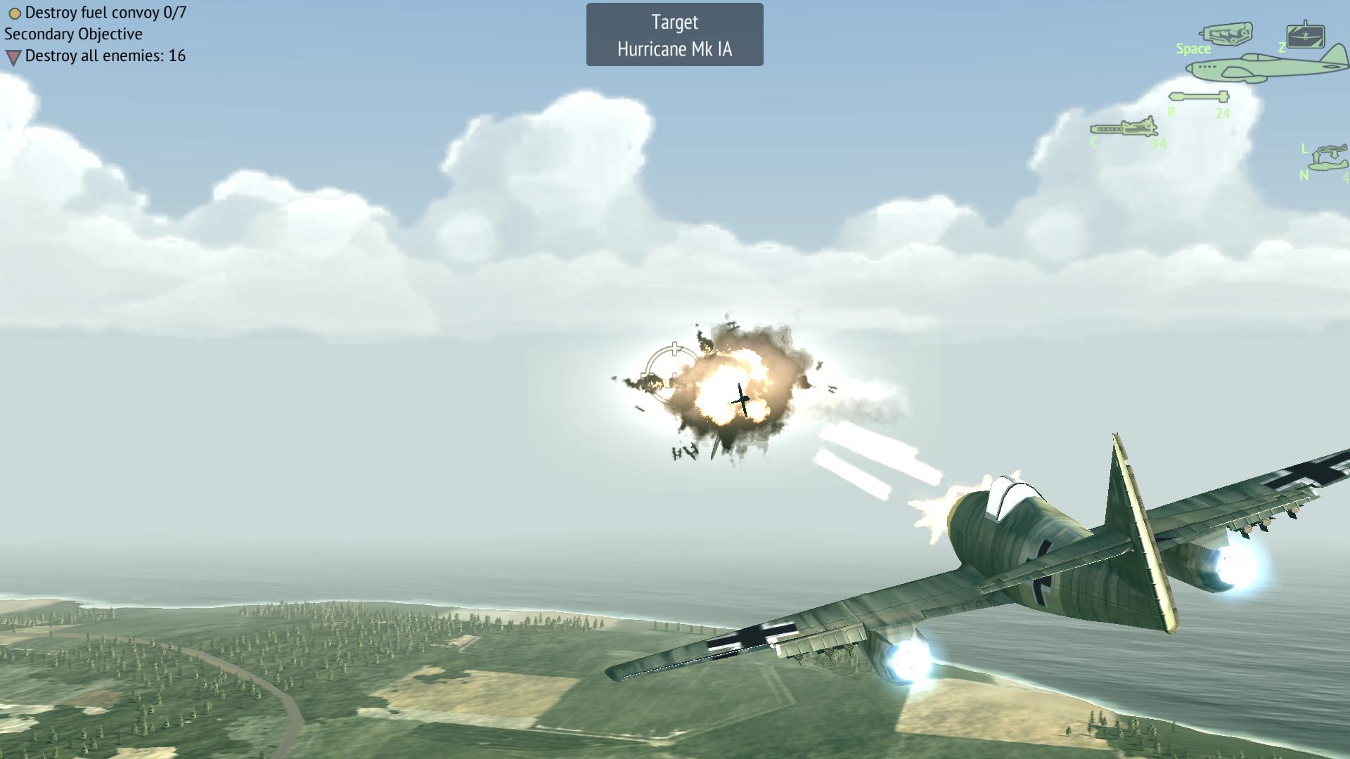 world war 2 flying games for mac