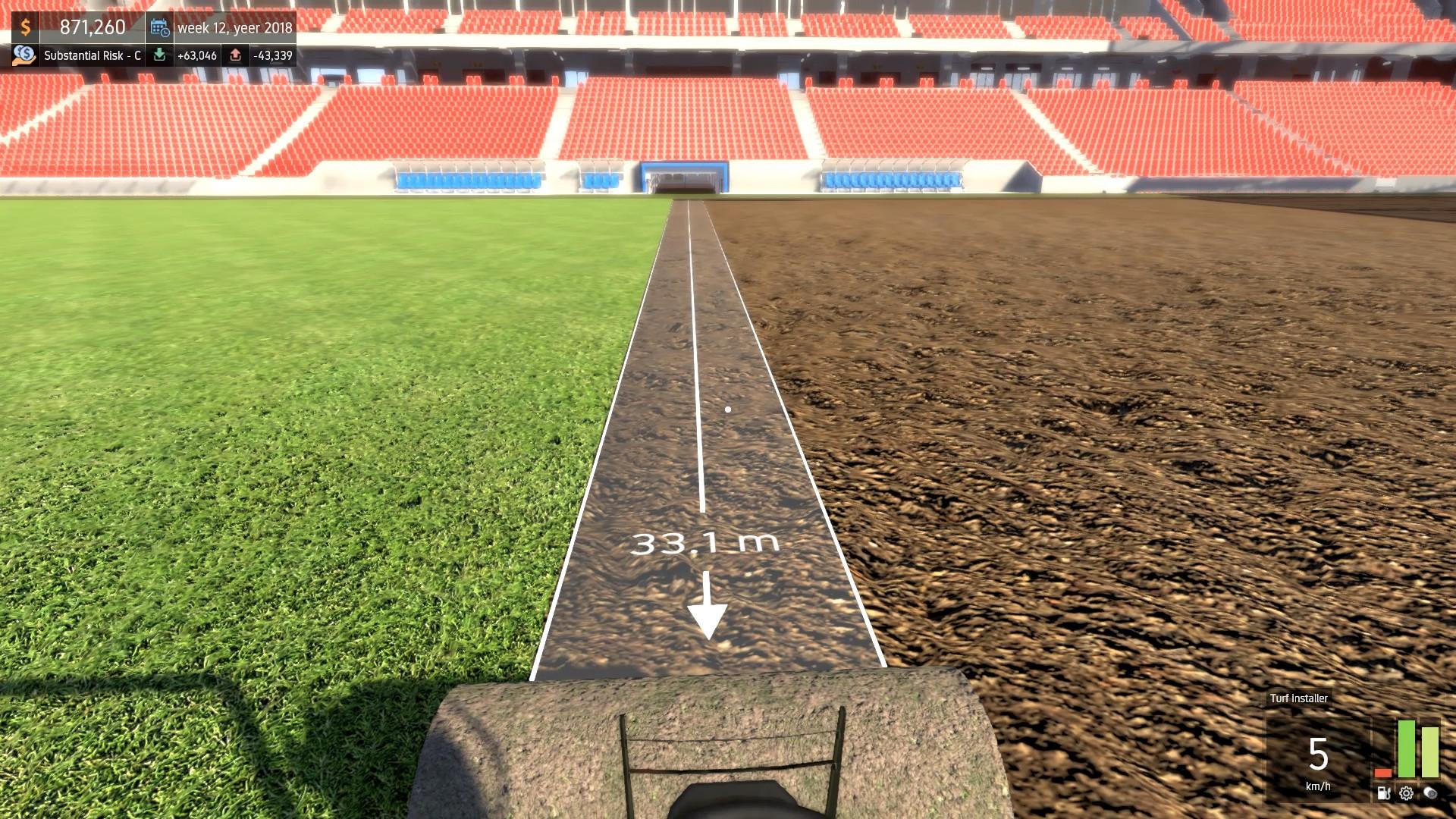 Make your own stadium game