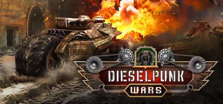 Dieselpunk Wars Capa