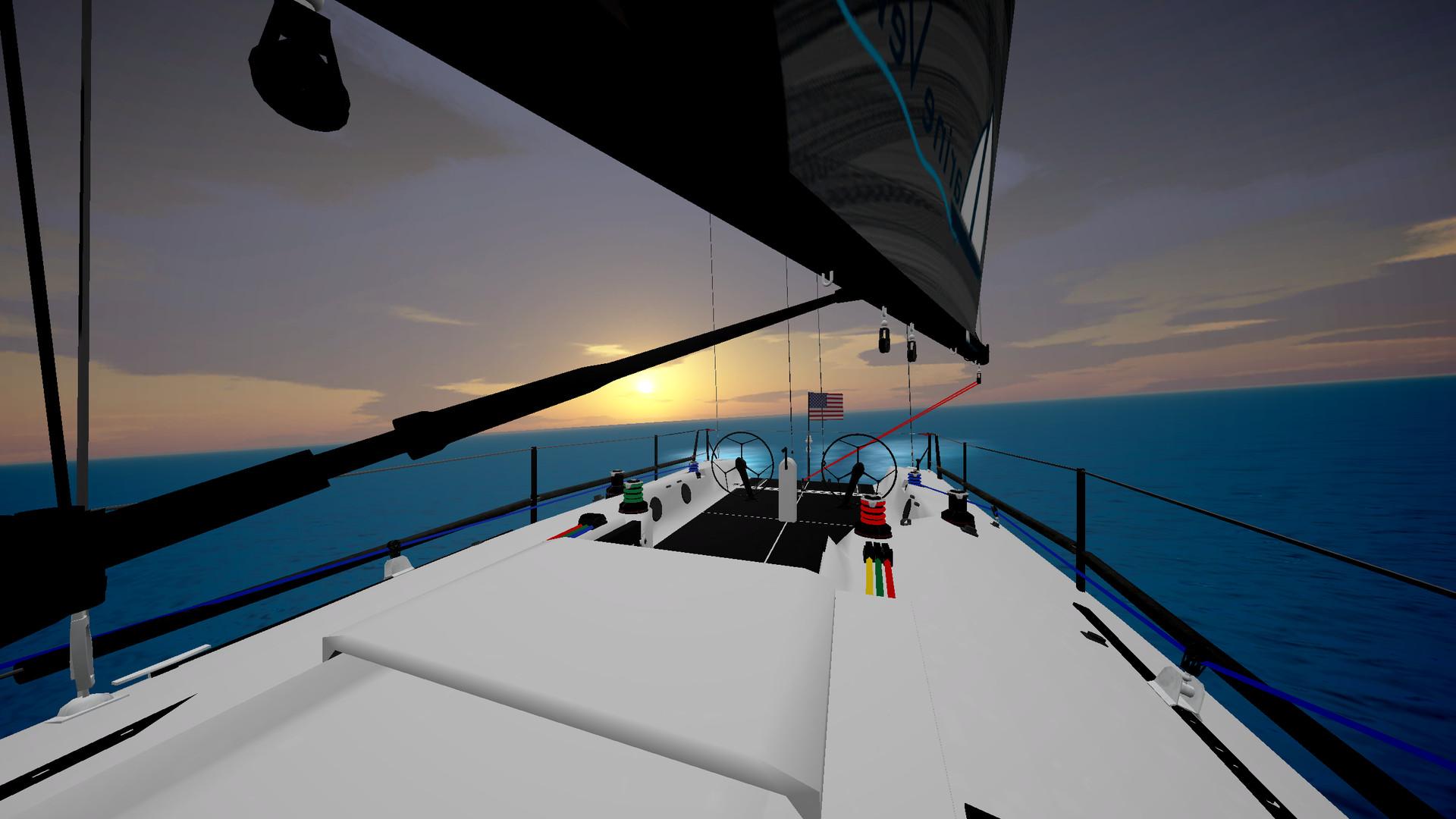 Oculus Quest 游戏《Big Breezy Boat》帆船模拟2插图(2)