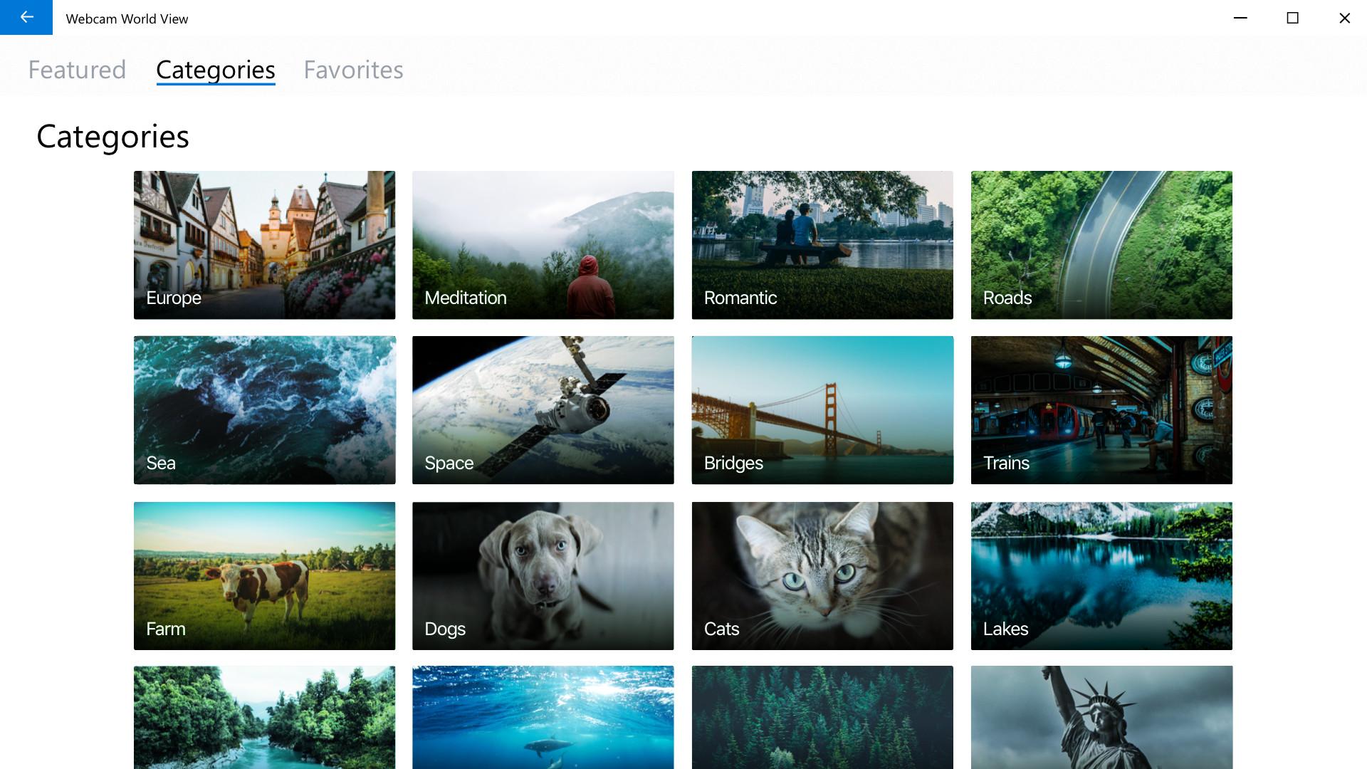 Webcam world view forum