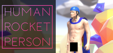 🚀 Human Rocket Person Cover Image