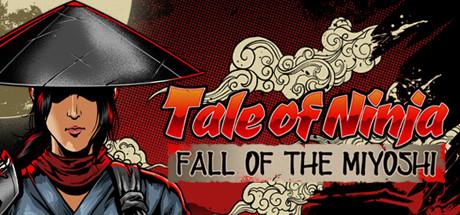 Tale of Ninja Fall of the Miyoshi [PT-BR] Capa