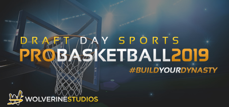 Draft Day Sports: Pro Basketball 2019 Cover Image