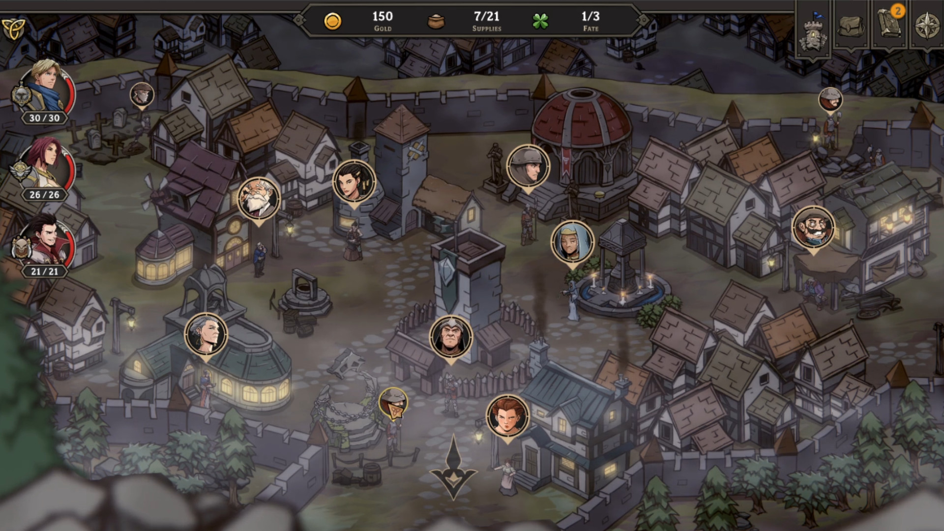 Gordian Quest screenshot 1