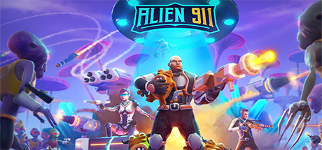 Alien 911 Capa
