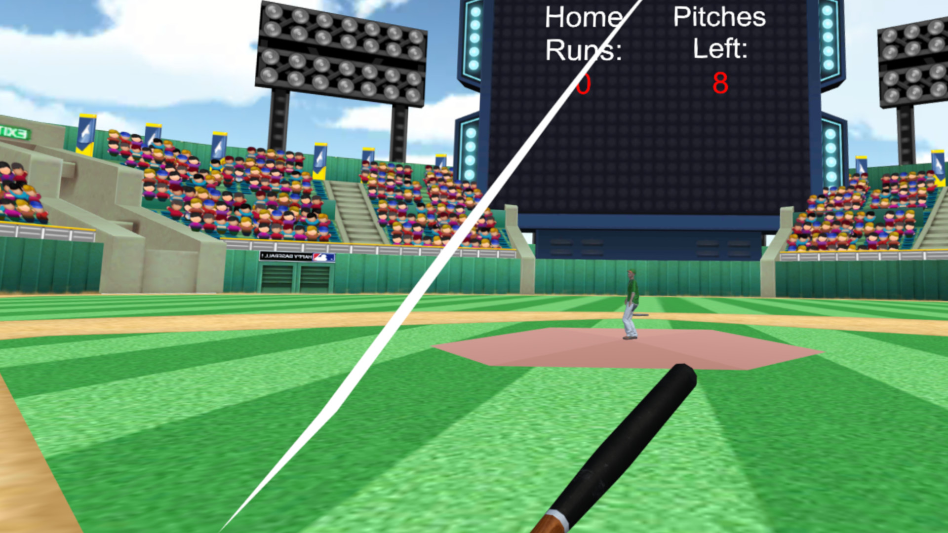 Oculus Quest 游戏《Home Plate Baseball》本垒板棒球插图(1)