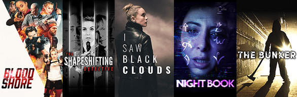 FMV Collection 3 - Late Shift, The Shapeshifting Detective & The Bunker