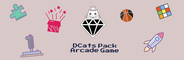 DCats Pack:Arcade Games